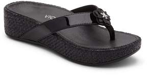 Vionic Walk.Move.Live Pacific Mimi Thong Wedge Sandals