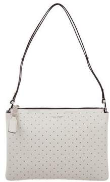 Marc Jacobs Studded Leather Bag - WHITE - STYLE
