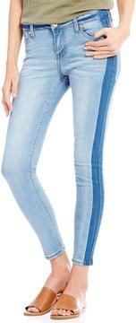 Celebrity Pink Shadow Stripe Ankle Skinny Jeans