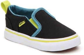 Vans Boys Asher Infant & Toddler Slip-On Sneaker