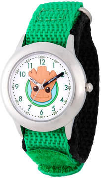 Marvel Guardian Of The Galaxy Boys Green Strap Watch-Wma000131