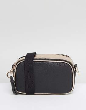 New Look Metallic Camera Bag