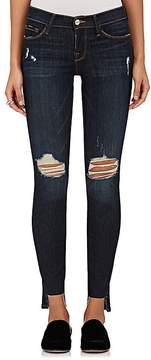 Frame Women's Le Skinny De Jeanne Raw Stagger Distressed Jeans