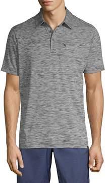 Hawke & Co Men's Heathered Short-Sleeve Polo