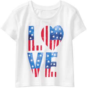 Gymboree White 'Love' Tee - Infant, Toddler & Girls