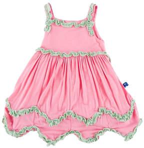 Kickee Pants Lotus Dress & Bloomer-Infant