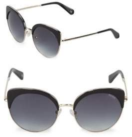 Balmain Gradient 55MM Cat Eye Sunglasses