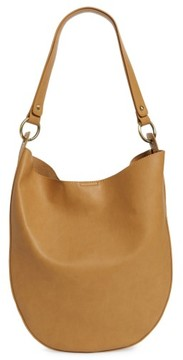 Sole Society Mila Faux Leather Hobo - Brown