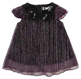 Petit Lem Baby Girl's Two-Piece Twinkle Dress and Bloomers