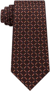 Sean John Men's Bicolor Check Silk Tie