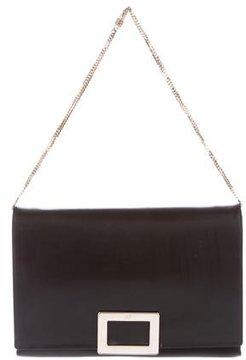 Roger Vivier Leather Flap Bag