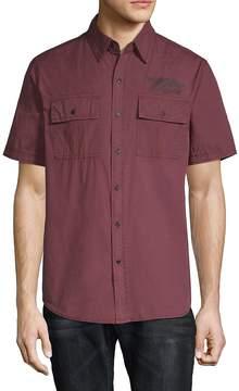 Affliction Men's Territorial Cotton Button-Down Shirt