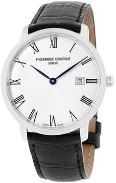 Frederique Constant Slimline FC306MR4S6 Stainless Steel Silver Dial 40mm Mens Watch