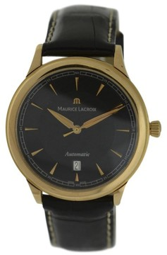 Maurice Lacroix Masterpiece 18K Rose Gold & Leather 40mm Watch