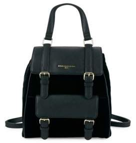 Karl Lagerfeld Georgina Versatile Leather Backpack