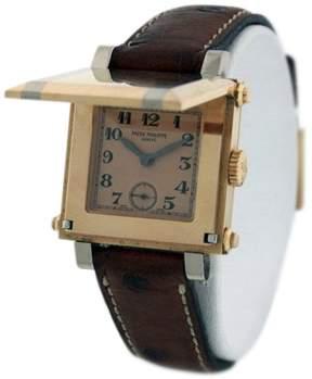 Patek Philippe Gondolo Cabriolet 5099R 18K Rose Gold Hidden Dial Hinged Watch