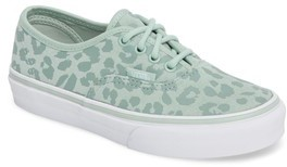 Vans Girl's Authentic Leopard Print Sneaker