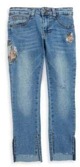 Joe's Jeans Girl's Embroidered Mid-Rise SD Jeans