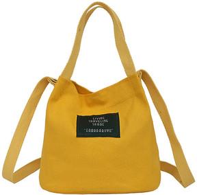 Shein Simple Canvas Bucket Bag