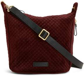 Vera Bradley Carson Mini Hobo Crossbody - CHOCOLATE RAISIN - STYLE