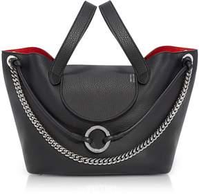 Meli-Melo Black Linked Thela Medium Tote Bag