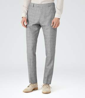 Reiss Stanley T Houndstooth Trousers