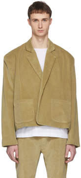 Fear Of God Tan Corduroy Blazer