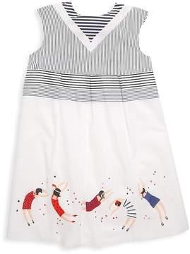 Catimini Little Girl's & Girl's Embroidered Tunic Dress
