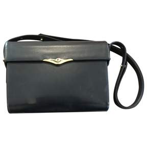 Cartier Vintage Black Leather Handbag
