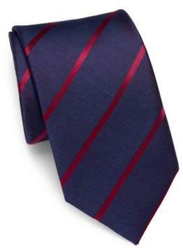 Charvet Diagonal Striped Silk Tie
