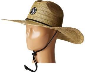 Volcom Quarter Straw Hat Caps