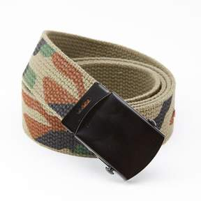 Blade + Blue Camouflage Cotton Web Military Belt