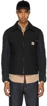 Junya Watanabe Black Carhartt Edition Customized Detroit Jacket