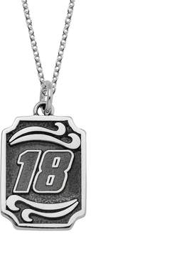 Insignia Collection NASCAR Kyle Busch Stainless Steel 18 Pendant