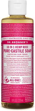 Dr. Bronner's Rose Pure-Castile Liquid Soap