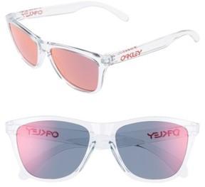 Oakley Women's Frogskins 55Mm Sunglasses - Red