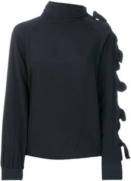 Drome high neck blouse
