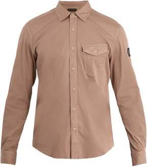 Belstaff Steadway single-cuff stretch-cotton shirt