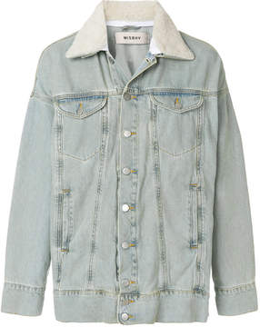 Misbhv oversized denim jacket