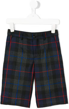 Dolce & Gabbana checked shorts