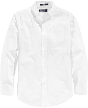 Nautica Boys' Husky Uniform Oxford Shirt
