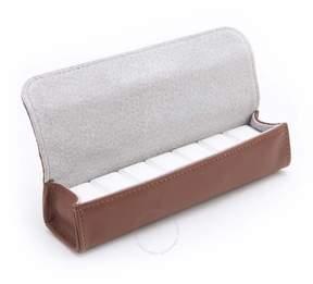 Royce Leather Royce Tan Leather Pill Storage Organizational Case