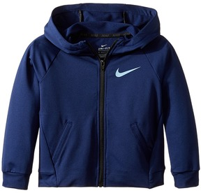 Nike Kids - Dri-Fit Training Full Zip Hoodie Boy's Sweatshirt