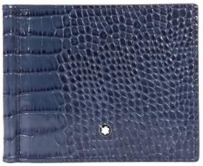Montblanc Meisterstuck Selection Leather Wallet- Indigo