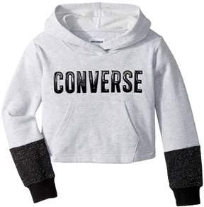 Converse Lurex Fleece Pullover Girl's Sweatshirt