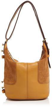 Marc Jacobs The Sling Mod Suede and Leather Hobo - MUSTARD/GOLD - STYLE