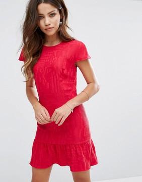 BA&SH Bodycon Raspberry Dress
