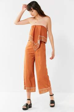 Finders Keepers Cropped Bandana Jumpsuit