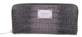MICHAEL Michael Kors Embossed Leather Wallet