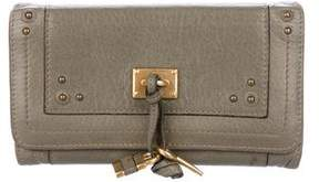 Chloé Grained Leather Wallet